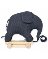Elefant in Navy