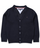 Strick-Cardigan in Navy - Junge