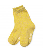 Socken in Yolk yellow