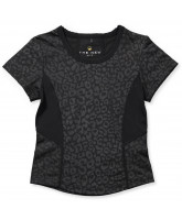 Leo-T-Shirt in Schwarz