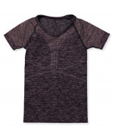 Bodydry T-Shirt in Grape Wine