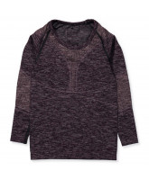 Bodydry Langarmshirt in Grape Wine