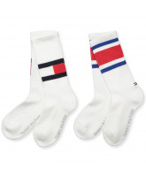 2er-Pack Socken in Weiß
