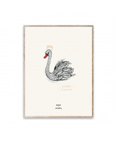 MADO x Soft Gallery Poster Lady Swan - 30x40 cm