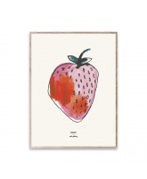 MADO x Soft Gallery Poster Strawberry - 30x40 cm