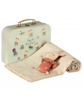 Rosa Baby Geschenkset in Koffer