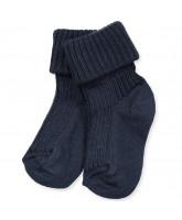 Blaue Baby Socken