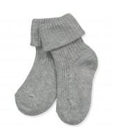 Graue Baby Socken
