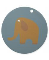 Platzdeckchen Elefant