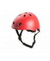 Fahrradhelm Classic in Red