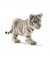 Tiger Junges weiß