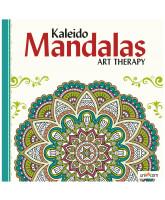Kaleido Mandalas Kunsttherapie - Weiß