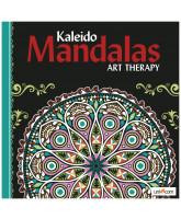 Kaleido Mandalas Kunsttherapie - Schwarz