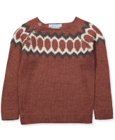 Pullover in Alpaca Wolle
