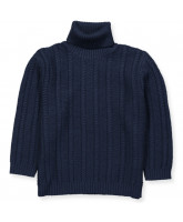 Pullover aus Wolle in Navy