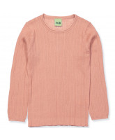 Pullover aus Wolle in Blush