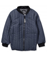 Duvet Jacke in Navy