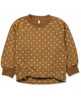 Sweatshirt in Caramel