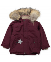 Winterjacke Wally mit Pelz
