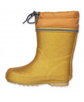 Wintergummistiefel in Gold