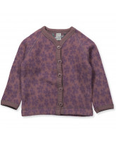 Fleece-Cardigan aus Wolle