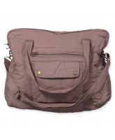 Wickeltasche in Mauve