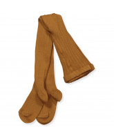 Ripp-Strumpfhose in Toffee
