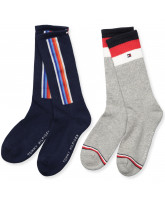 2er-Pack Socken in Navy