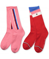 2er-Pack Socken in Pink