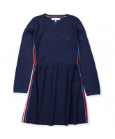Sweat-Kleid in Navy