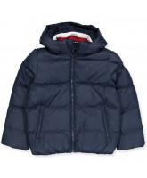 Daunenjacke in Navy