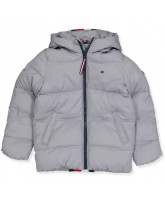 Winterjacke in Grau