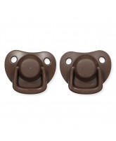 2er-Pack Schnuller in Chocolate  0-6 Monate