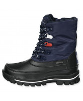Winterstiefel in Navy