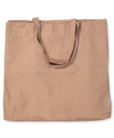 Tote Bag in Dark Powder