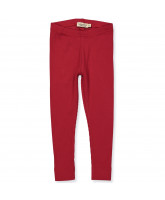 Ripp-Leggings in Rot