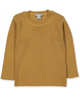 Pullover mit Wolle in Mustard