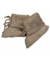Bio Fleece-Hausschuhe aus Wolle
