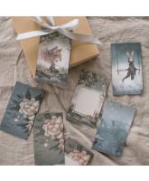 Geschenkanhänger Flowers & Tivoli - 10 Stck
