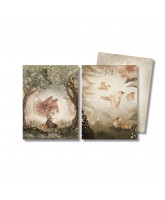 2er-Pack Karten Woods & Birds