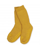 Stoppersocken in Mustard