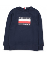 Sweatshirt in Blau