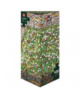 Puzzle Crazy World Cup - 4000 Teile