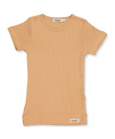 Ripp-T-Shirt in Rose Stone