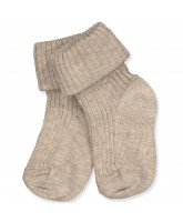 Babysocken in Light Brown