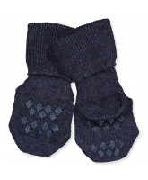Stoppersocken in Navy
