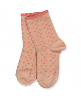 Socken in Soft Coral