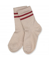 Socken in Rose Dust