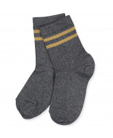 Socken in Dark Grey