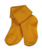 Babysocken in Golden Spice